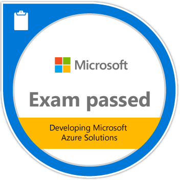 Microsoft Specialist Exam 532: Developing Microsoft Azure Solutions